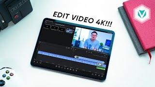 Hưng Khúc Dựng Video 4K bằng iPad Pro