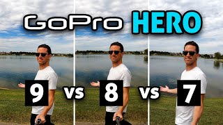 GoPro HERO 9 vs 8 vs 7!
