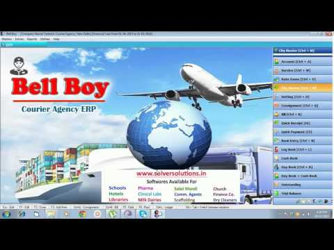 Bellboy: Courier Agency Management Software by www.solversolutions.in