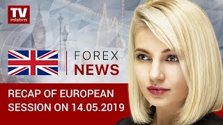InstaForex tv news: 14.05.2019: Should traders sell EUR? (GBP, USD, EUR, CHF, GOLD)