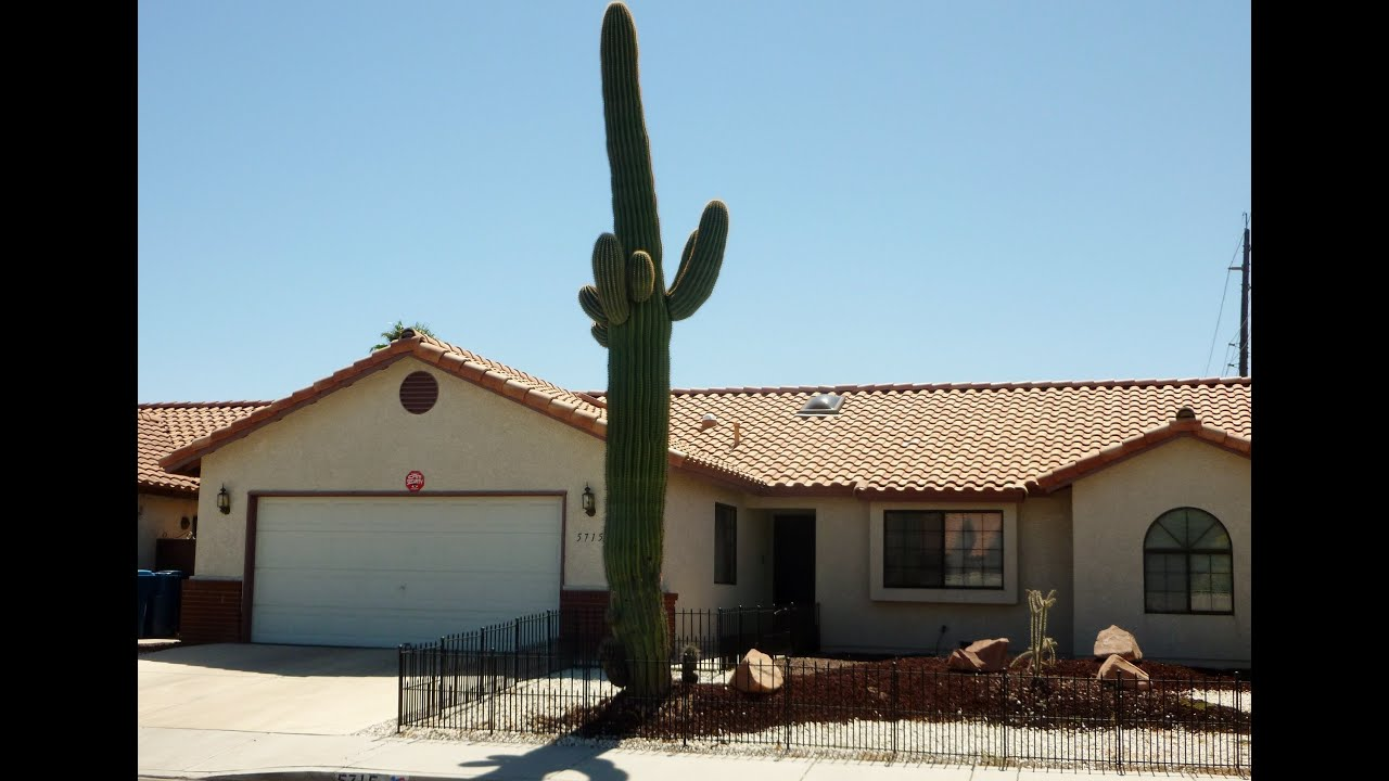 single story single family home for sale near the strip 5715 w