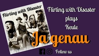 Keule - Ja genau (cover by Flirting with Disaster) ~ Live in Ravensburg