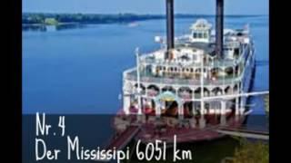 Die 5 längsten Flüsse der Erde