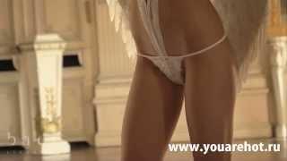 Эротическое белье Боди Angel OS 42 46, белый 042(Эротические женское нижнее белье тут - http://www.youarehot.ru/collection/seksualnoe-belie Для того, кто любит показать себя и охот..., 2013-11-21T22:32:16.000Z)