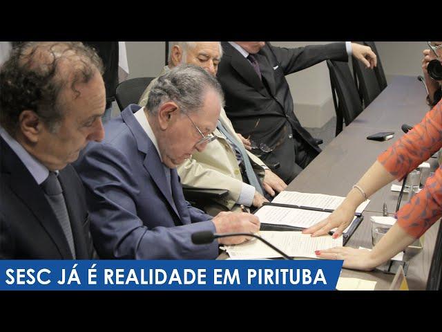 Prefeitura assina concessão de terreno para Sesc Pirituba