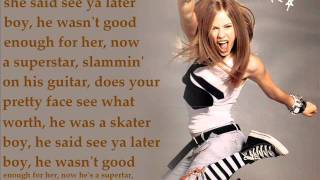 """SKATER BOY"" - Avril Lavigne Lyrics"