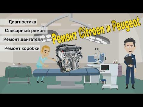 Автосервис Citroen и Peugeot. Ремонт двигателя EP6 | RFN | RFJ | NFU | TU5JP Ситроен и Пежо