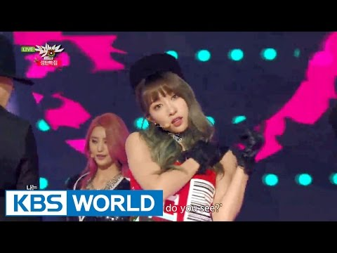 EXID - HOT PINK [Music Bank Christmas Special / 2015.12.25]