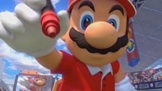 Mario Tennis Aces 100% Walkthrough Finale - Lucien Cup + Final Boss / Ending
