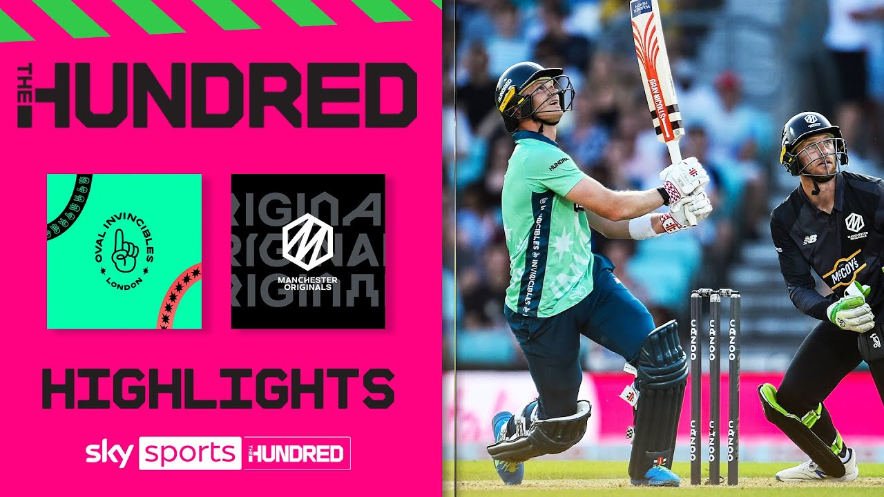 Oval Invincibles - Manchester Originals 🏏  HIGHLIGHTS - Women | THE HUNDRED