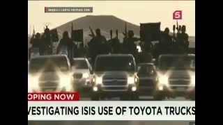 Сирия   Боевики ИГ бегут бросая оружие и технику!
