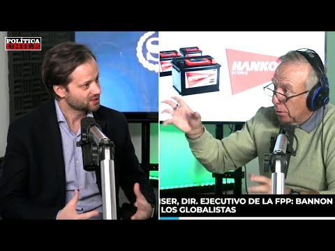 Axel Kaiser y Fernando Paulsen - Steve Bannon y el Populismo de Derecha