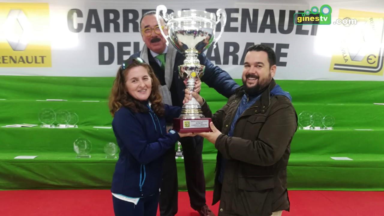 Más de 580 atletas tomaron parte en la XXXVII Carrera Renault del Aljarafe