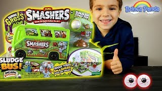 Sludge Bus Smashers Gross Series 2 Unboxing