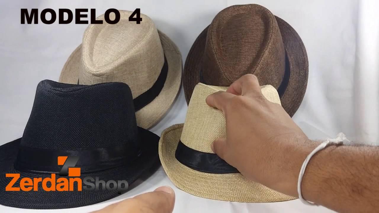 Chapéu de aba Curta - YouTube 75138bd5cb1
