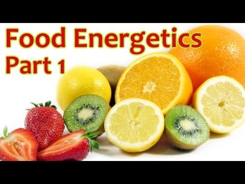 Food Energetics by Steve Gagne, Energy of Healthy Foods Part 1, Nutrition & Health AOMA
