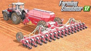 Siew buraków  - Farming Simulator 17 [PLATINUM] | #46