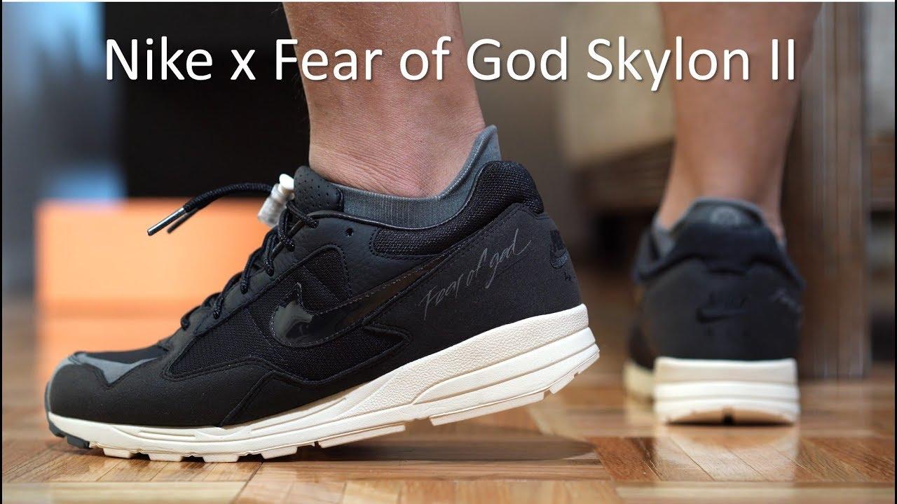 the latest 2ad2e 0a40a Nike Air Fear of God Skylon II - Review/On-feet