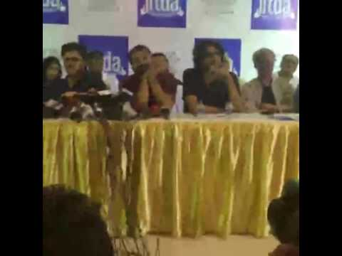 Indian Film & Television Directors Association Press Conference on the ‪‎Udta Punjab‬ Censor Row