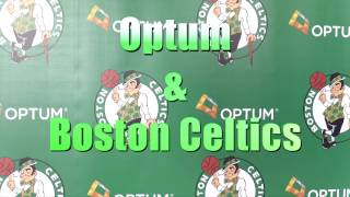 Boston Celtics and Optum - Day of Service at Frost School