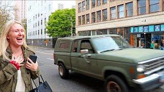 Almost Got Hit By A Car In Portland Oregon!