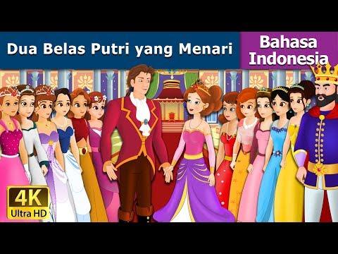Dua Belas Putri yang Menari - dongeng bahasa indonesia - dongeng anak-4K UHD -Indonesian Fairy Tales