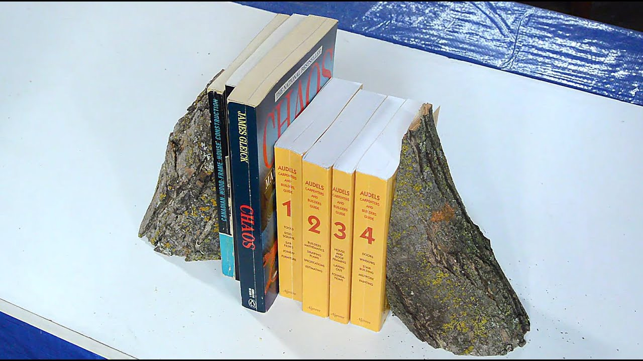 A cynical take on making bookends