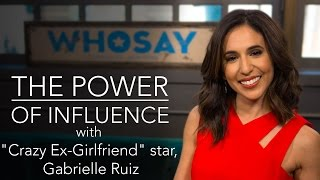 Gabrielle Ruiz Dives Into Her 'Crazy Ex-Girlfriend' Character | WHOSAY