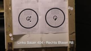 Sauer 404 Carbon vs. Blaser R8 Prof.Success - Test