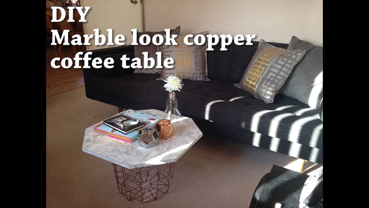 how to make a copper table top