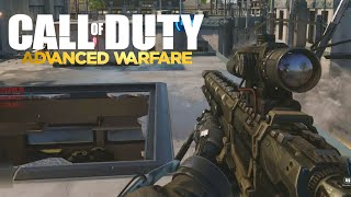 Call of Duty: Advanced Warfare Sniper Gameplay (Rail Gun Sniping)