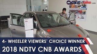 2018 NDTV CNB Viewers' Choice Four Wheeler Winner | NDTV carandbike