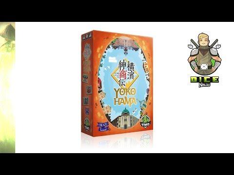 Kickstarter Unboxing - Yokohama (Deluxe Edition)