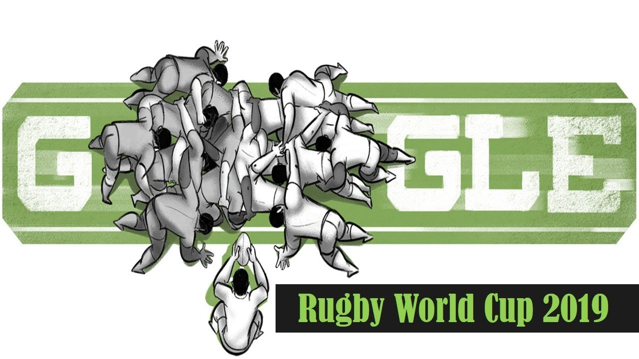 Google Doodle celebrates opening of Rugby World Cup 2019