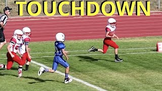 🏈PUNT RETURN TOUCHDOWN at TACKLE FOOTBALL GAME 🏈