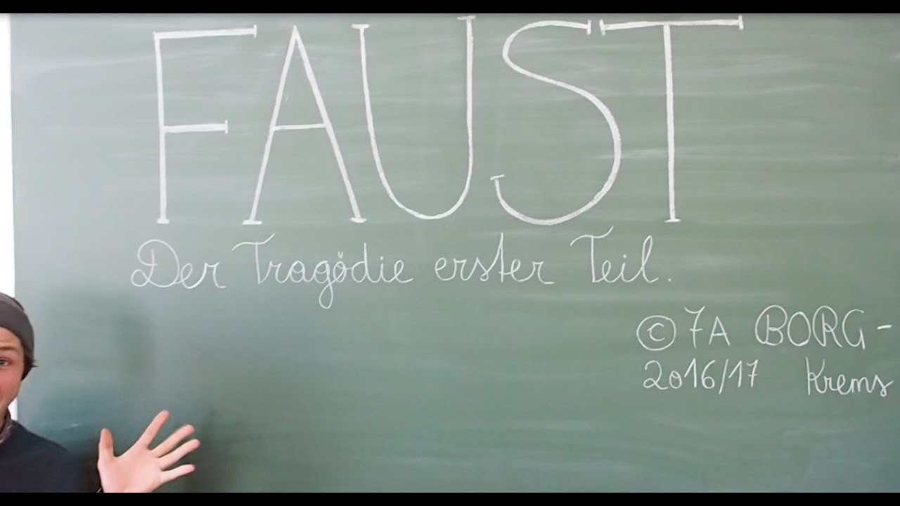Faust I Eine Interpretation Youtube
