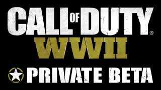 Call of Duty WWII - PRIVATE BETA - Soundtrack