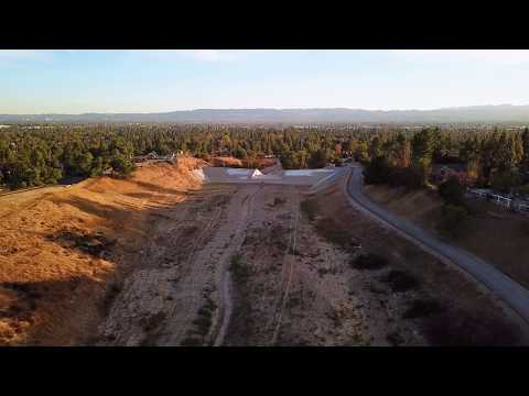 Footage of Sunset over the San Fernando Valley (DJI Mavic Pro 4k)
