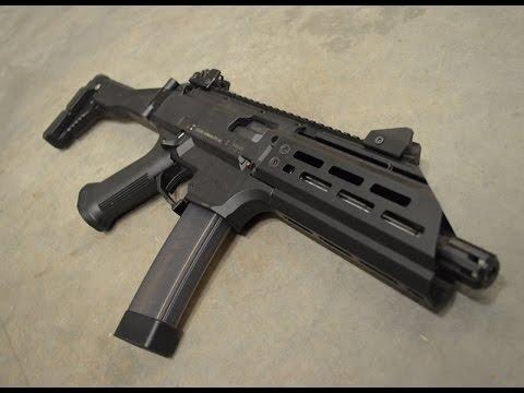 Смотрите сегодня Tailhook Mod 1 Review FDE CZ Scorpion Evo