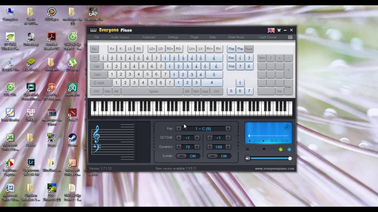 BANH BEO BOY/ Hướng dẫn đánh Piano trên máy tính everyone.