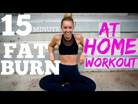 15min FAT BURNER | AT HOME FULL BODY WORKOUT!!