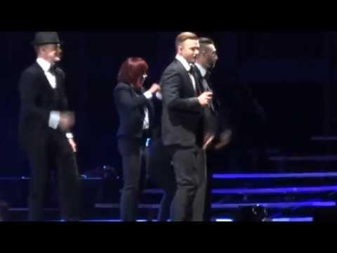 Justin Timberlake  Like I Love You  My Love HD  in Paris 2014