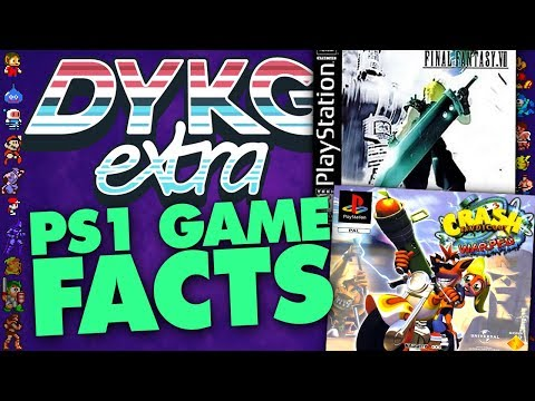 PlayStation 1 Game Facts - Did You Know Gaming? Feat. Caddicarus
