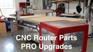 CNC Router Parts PRO Upgrades