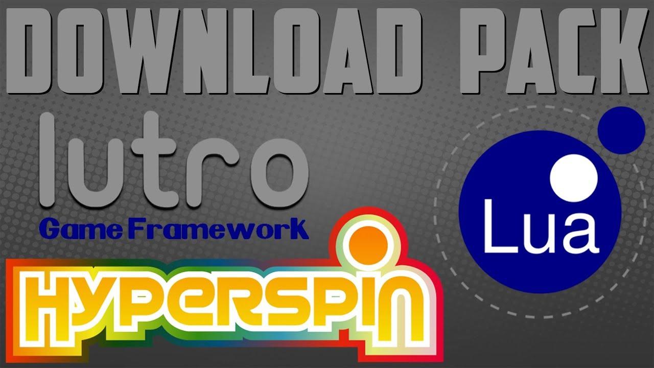 GhostLost Lutro Hyperspin EXCLUSIVE Pack - Full Loaded Pack
