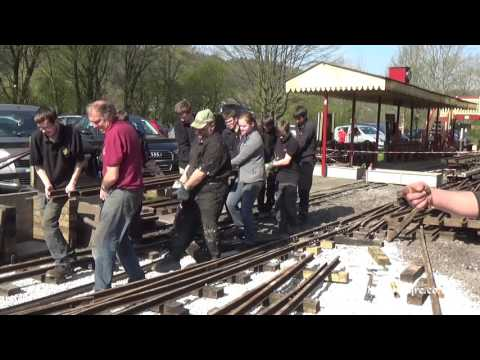 The Leek & Rudyard Railway ( Part 1 The Re-Construction )