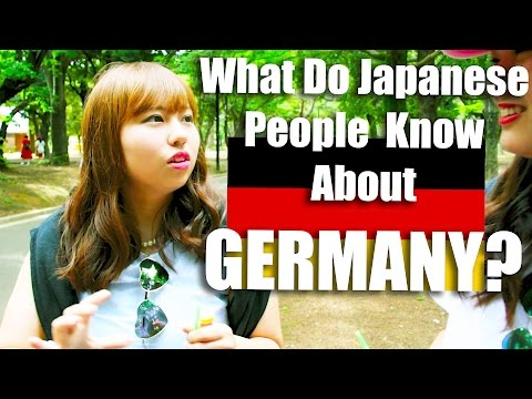 Germans in Japan: What Do Japanese People Really Know About Germany?