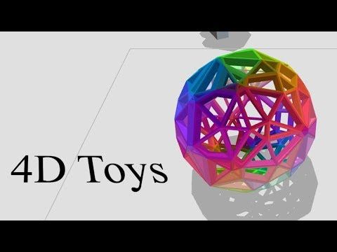 4D Toys | WHEN DIMENSIONS COLLIDE
