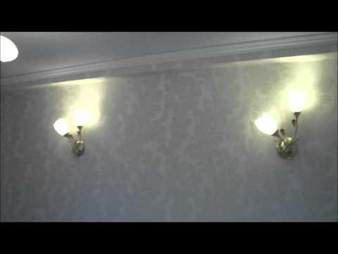 освещение спальни 22