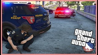 GTA 5 ROLEPLAY - DEADLY SHOOTER TRIES TO TAKE OUT THE COPS! - EP. 991 - AFG - LEO